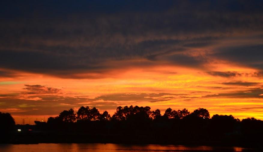 rain storm sunset 113